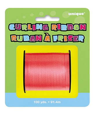 Red 100yd Curling Ribbon