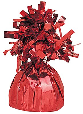 Red Balloon Foil Weight