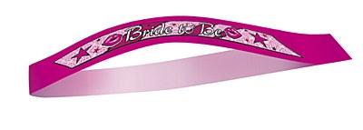 Bachelorette Bride To Be Sash