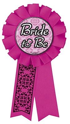 Bachelorette Bride To Be Award Ribbon