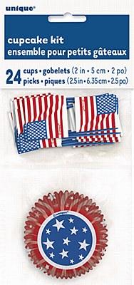 Patriotic Cupcake Decorating Kit