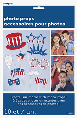 Patriotic Photo Booth Party Kit