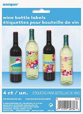 Summer Spirits Bottle Labels