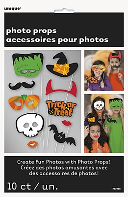 Halloween Photo Booth Party Kit