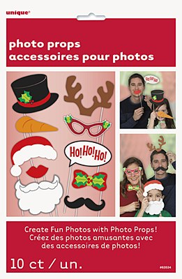 Christmas Photo Booth Party Kit