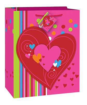 Cheerful Hearts Gift Bag