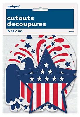 Patriotic Mini Cutouts