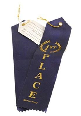 Award Winner Blue Ribbon - 1st Place