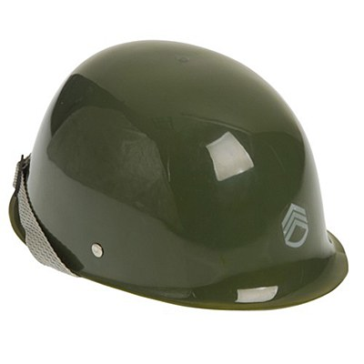 Army Child Plastic Helmet