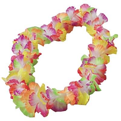 Rainbow Flower Lei
