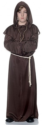 Monk Child Hooded Robe