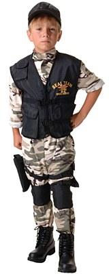 Seal Team Army Child Costume