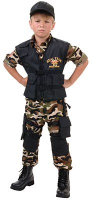 Seal Team Army Deluxe Child Costume