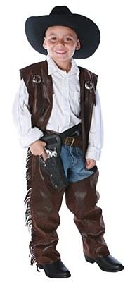 Cowboy Fringed Chaps Child Set