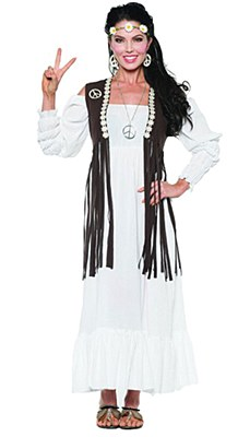 Earth Child Hippie Woman Adult Costume