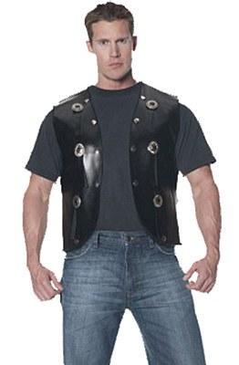 Studded Adult Biker Vest