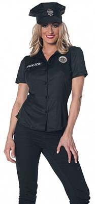 Police Fitted Adult Women's Shirt