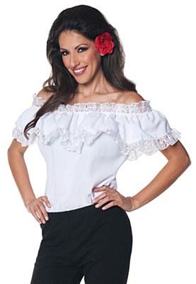 Senorita Blouse Adult Costume