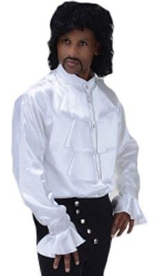 Pop Star Prince Ruffled White Shirt