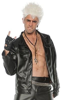 Leather Rocker Adult Jacket
