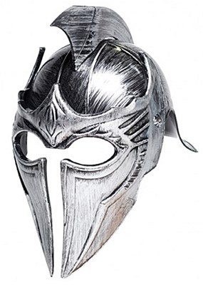 Gladiator Point Silver Helmet