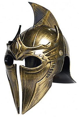 Gladiator Point Gold Helmet