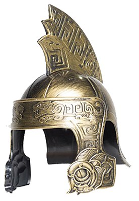 Gladiator Tiger Gold Adult Helmet