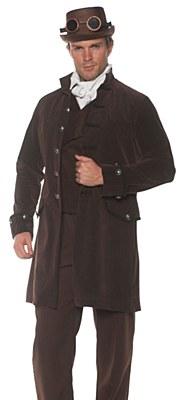 Pirate Frock Brown Adult Coat