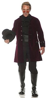 Pirate Frock Wine Adult Coat