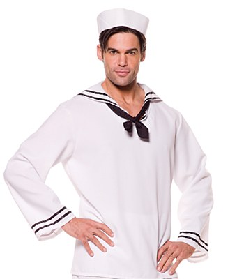 Sailor Man Adult Shirt And Hat