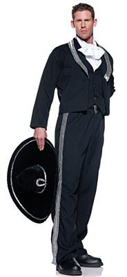 Mariachi Adult Plus Costume