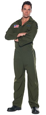 Airforce Jumpsuit Adult Plus Costume