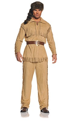 Frontier Man Adult Costume