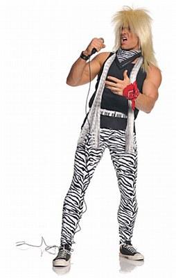 80's Rocker Adult Costume