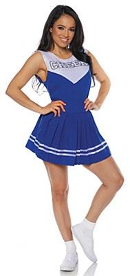 Cheer Blue Cheerleader Adult Costume