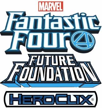 Heroclix Fantastic Four Future Foundation CURSR Prime Chase Set