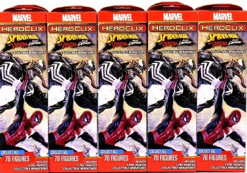 Heroclix Spider-Man Venom and Absolute Carnage Booster Brick