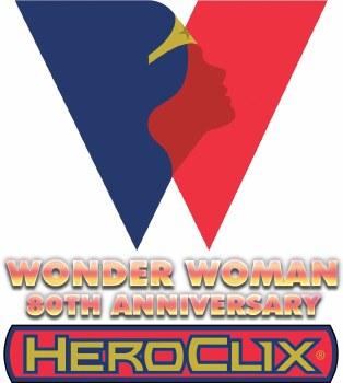 Heroclix Wonder Woman 80th CUR Set PRESALE