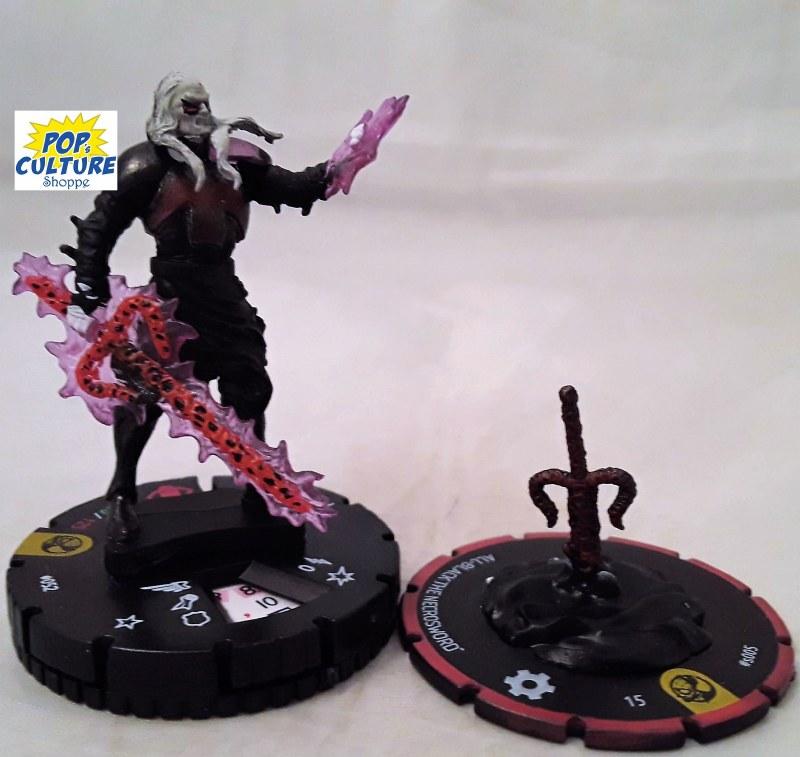 Marvel Heroclix Spider-Man /& Venom Absolute Carnage 052 Knull Super Rare
