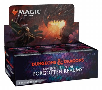 Magic the Gathering: Adventures in the Forgotten Realms Draft Booster Box