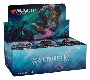 PRESALE Magic the Gathering: Kaldheim Draft Booster Box PRESALE