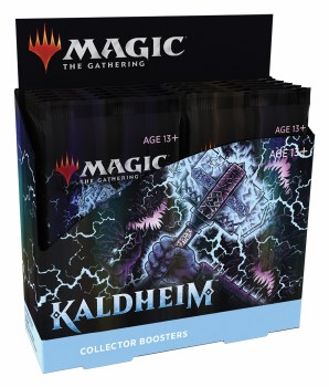 PRESALE Magic the Gathering: Kaldheim Collector Booster Box PRESALE