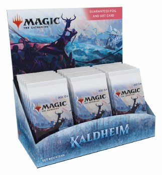 PRESALE Magic the Gathering: Kaldheim Set Booster Box PRESALE