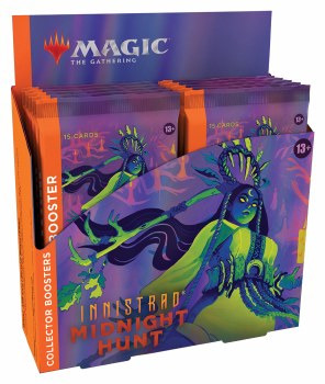 Magic the Gathering: Innistrad: Midnight Hunt Collector Booster Box