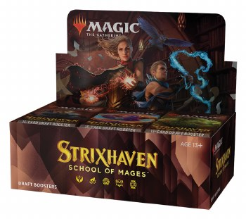 PRESALE Magic the Gathering: Strixhaven Draft Booster Box PRESALE