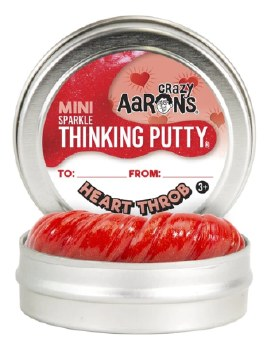 Thinking Putty: Mini Tin - Heart Throb