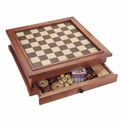 10 in 1 Wooden Games Combination Set