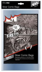 100 Comic Bags Silver Age