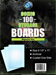 100 Comic Boards Magazine Size