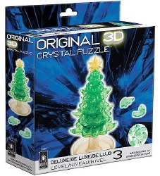 3D Crystal Puzzle - Christmas Tree